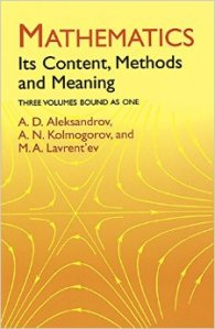 mathematics its content, methods, and meaning